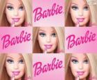 Koláž Barbie