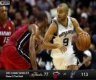 2013 NBA finále, 3 utkání, Miami Heat 77 - San Antonio Spurs 113