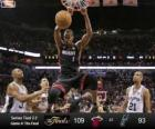 2013 NBA finále, 4. hra, Miami Heat 109 - San Antonio Spurs 93