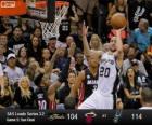 2013 NBA finále, 5. hra, Miami Heat 104 - San Antonio Spurs 114