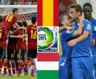 Španělsko - Itálie, semifinále Konfederační pohár FIFA 2013