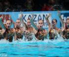Synchronizované plavání