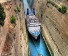 Korintský průplav, Řecko