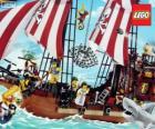 Lego pirátská loď