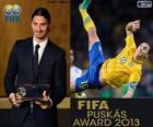 FIFA Puskás Award 2013 pro Zlatan Ibrahimovic