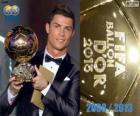 FIFA Ballon d'Or 2013 vítěz Cristiano Ronaldo