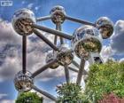 Atomium, Brusel, Belgie