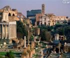 Římské fórum, Řím, Itálie
