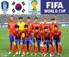 Výběr z Jižní Koreje, Skupina H, Brazílie 2014