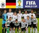 Výběr z Německo, skupina G, Brazílie 2014
