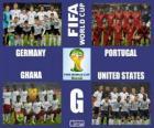 Skupina G, Brazílie 2014