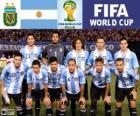 Výběr z Argentiny, skupina F, Brazílie 2014