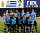 Výběr z Uruguaye, Skupina D, Brazílie 2014