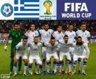 Výběr z Řecka, skupina C, Brazílie 2014