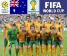 Výběr z Austrálie, skupina B, Brazílie 2014