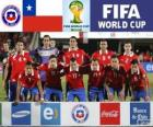 Výběr z Chile, skupina B, Brazílie 2014