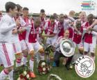 Ajax Amsterdam, mistr nizozemské fotbalové ligy Eredivisie 2013-2014
