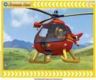 Tom Thomas s jeho Wallaby One vrtulník