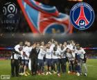 Paris Saint Germain, PSG, Ligue 1 2013-2014 šampion, Francie fotbalové ligy