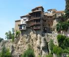 Předsazení domy, Cuenca, Španělsko