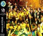 Maccabi Electra Tel Aviv, Euroliga basketbal 2014 mistr