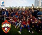 CSKA Moskva, šampiona Liga Premier 2013-2014, ruské fotbalové ligy