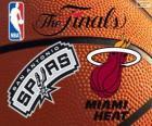 2014 NBA finále. San Antonio Spurs vs Miami Heat