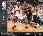 2014 NBA finále, 3 utkání, San Antonio Spurs 111 - Miami Heat 92