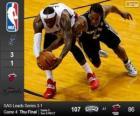 2014 NBA finále, čtvrtý zápas, San Antonio Spurs 107 - Miami Heat 86