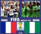 Francie - Nigérie, osmé finále, Brazílie 2014