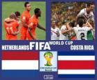 Nizozemsko - Costa Rica, čtvrtfinále, Brazílie 2014