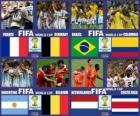 Čtvrtfinále, Brazílie 2014