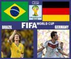 Brazílie - Německo, semi-finále, Brazílie 2014