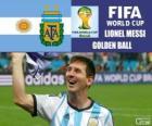 Lionel Messi, Zlatý míč. Brazílie 2014 mistrovství světa ve fotbale