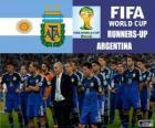 Argentina klasifikován z Brazílie 2014 fotbalové mistrovství světa 2.