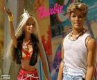Barbie a Ken v létě