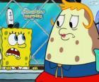 SpongeBob a Paní z listového