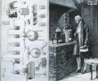 Antoine Lavoisier (1743-1794), francouzský chemik, považován za tvůrce moderní chemie