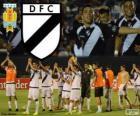 Danubio FC, vítěz první lize fotbalu v Uruguayi 2013-2014