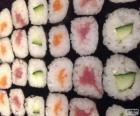 Miluška, varianta sushi