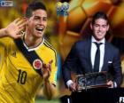FIFA Puskás Award 2014 pro James Rodríguez