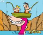 Fred Flintstone a Barney Drti
