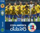 Výběr z Brazílie, skupina C, Chile Copa America 2015
