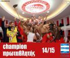 Olympiacos FC mistr 2014-2015