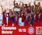 Bayern Mnichov, vítěz 2014-2015