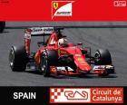 Vettel G.P Španělsko 2015