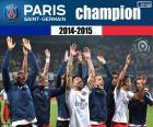 PSG, mistr 2014-2015
