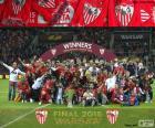 Sevilla, vítěz Europa League 2014-2015