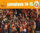 Galatasaray, mistr 14-15