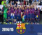 FC Barcelona Liga mistrů 14-15